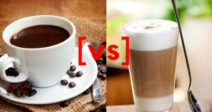 Coffee vs. Latte