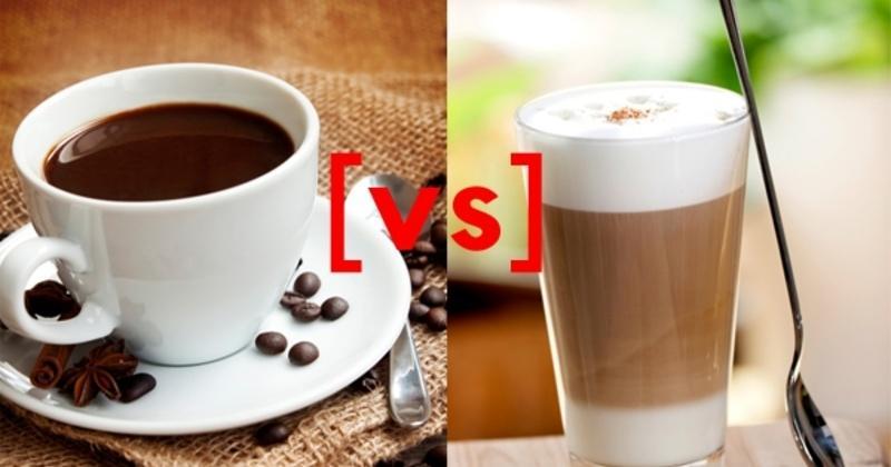 Coffee vs. Latte