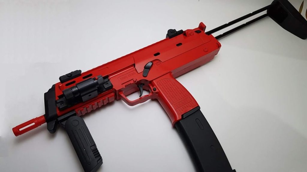 gel SMG blaster